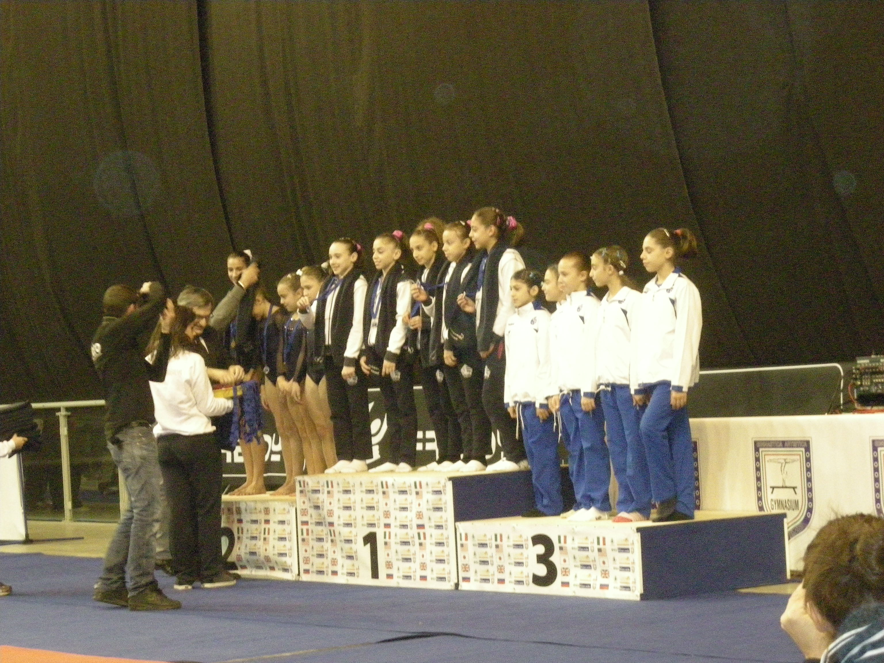 Campionati italiani C1 Atletica 75 3° posto